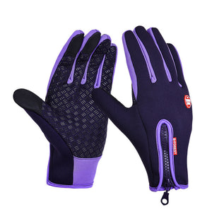 Unisex Touchscreen Outdoor Camping Hiking Motorcycle Gloves Sports Full Finger