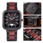WOODEN STYLISH QUARTZ WATCH FOR MAN