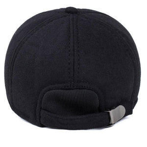Cotton casual fashion men's popular baseball cap, metal buckle