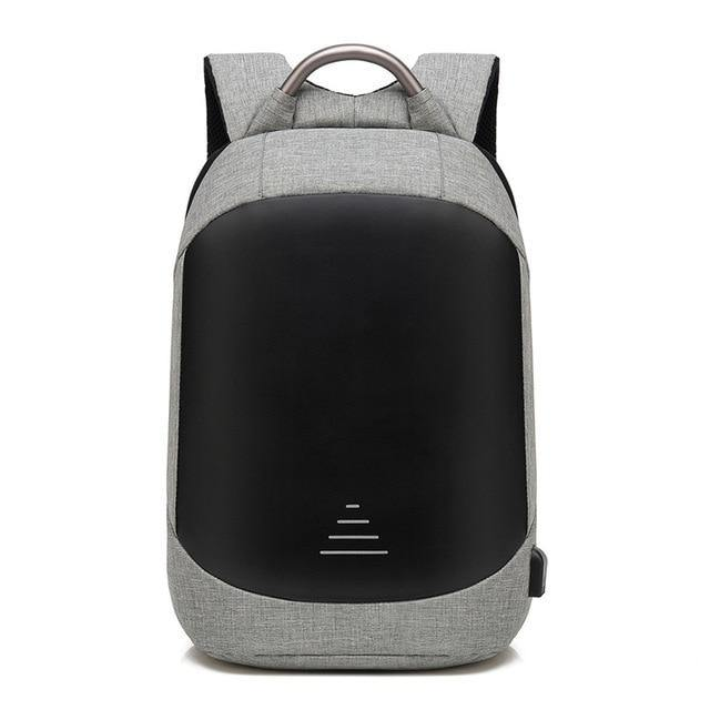 Anti theft 15.6  Waterproof With USB Charge High capacity Backpack - soqexpress