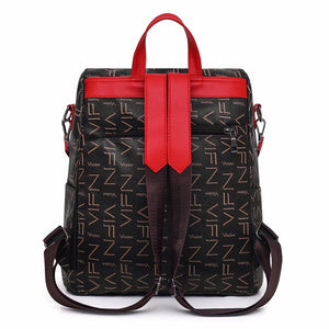 RETRO FASHION LADIES BACKPACK