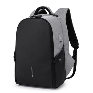 "Anti-theft Design  Waterproof  15.6"" Laptop Backpack with USB charging"