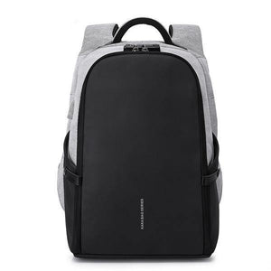 "Anti-theft Design  Waterproof  15.6"" Laptop Backpack with USB charging - soqexpress"