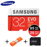 SAMSUNG EVO Plus memory card 32GB  64GB 128GB Micro-sd tf card