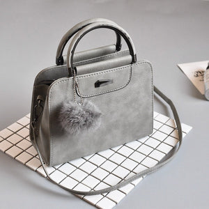 High Quality Fashion Leather Bag New Rivet handbag for Ladies