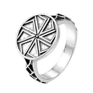 Handmade Vintage Viking Nordic Slavic Pagan Amulet Finger Ring Women Men Gift