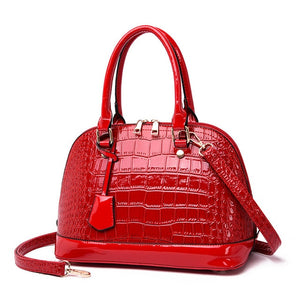 New Fashion  Leather  Shell Bag Lady