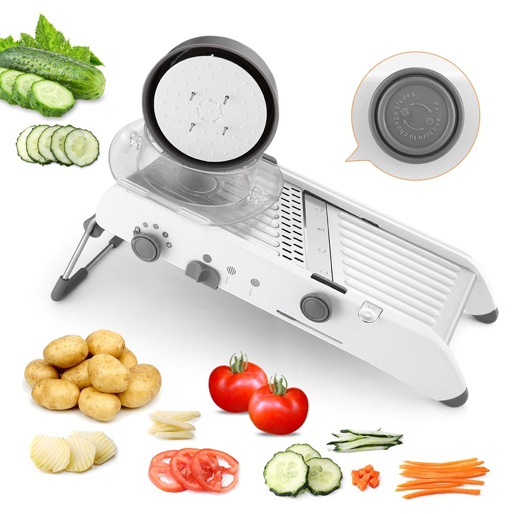 Mandoline Vegetables Cutter Shredders Stainless Steel Slicer