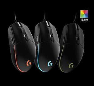 Logitech G102 IC PRODIGY Gaming Mouse Optical 8,000DPI, 16.8M Color LED