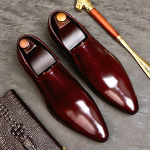 Roberto Dress Shoes Genuine Leather
