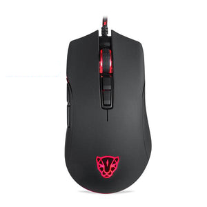 Motospeed V70 USB Wired PUBG Gaming Mouse 5000-12000 DPI  RGB LED Backlight