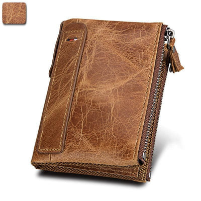 RFID Blocking Vintage Cowhide Leather Wallet-50% OFF Only Today!!!