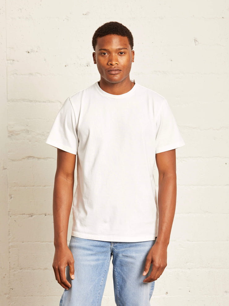 The Organic Tee | Optic White