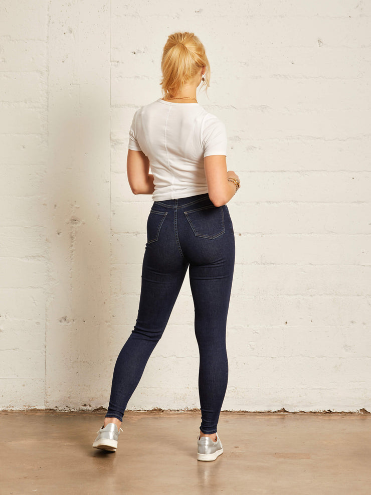 The High-rise Skinny | Deep Blue