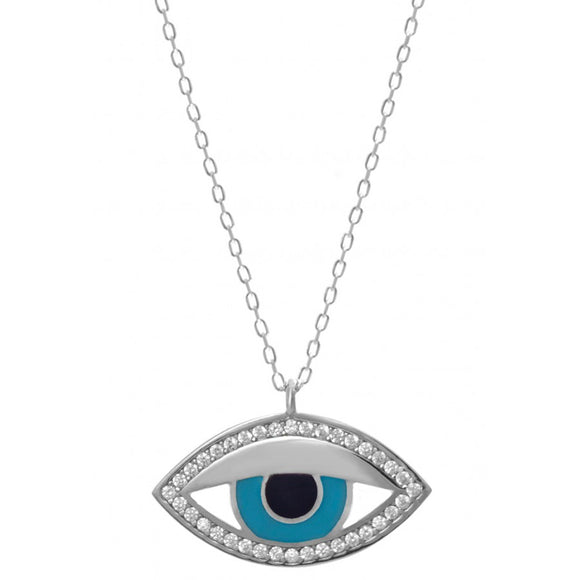 Trendy Evil Eye Necklace