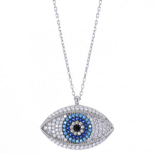 Designer Luxury Evil Eye Necklace