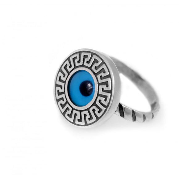 Greek Mati Evil Eye Protection Ring
