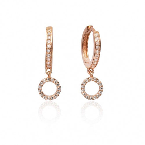 Delicate Hollow Round Earrings Turkish