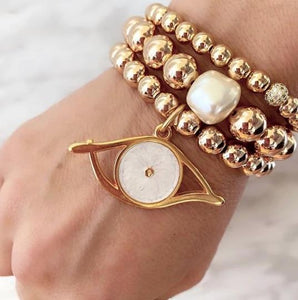 Artisan Jewellery - Pearl Stack ($299 on special reduced from $399)