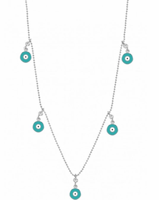 Multi Charm Evil Eye Hamsa Necklace (Photo To Come)