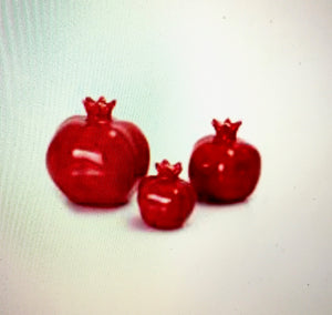 Red Pomegranates Set