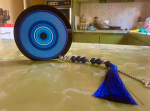 Blue Home Decor Eye with Tassel with 2021 charm