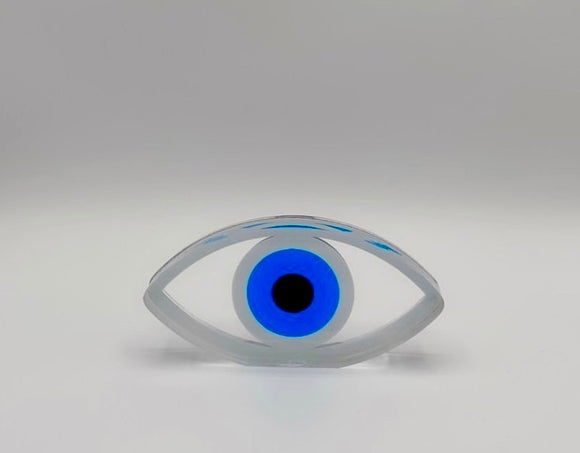 Glass Evil Eye Home Decor
