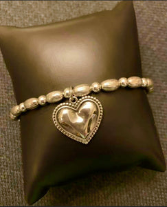 Artisan Collection Heart Bracelet - 1 only Available $119