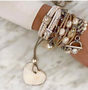 The Pear Heart White Range - Buy as one  $350 on Special or individually from $69 each