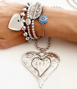 Heart Necklace & Heart Bracelets (5 pieces $299 Reduced) or buy individually from $67