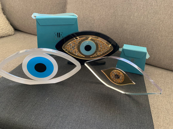 Plexi Glass Evil Eye Home Decor From $95 - $110