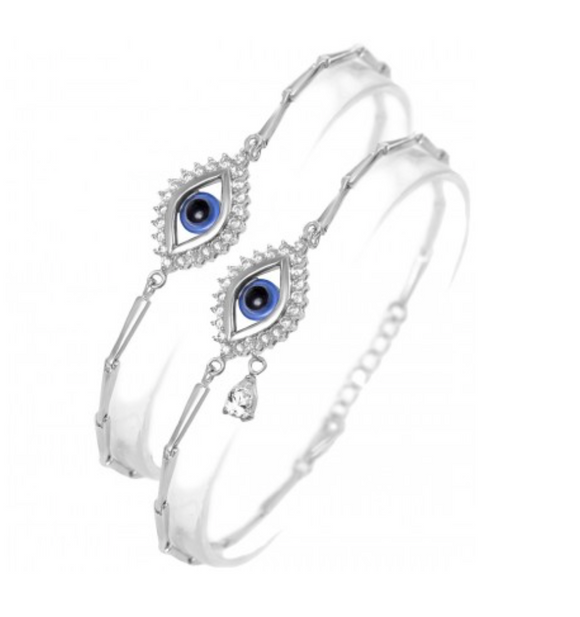 Lucky Eye Bracelet with Teardrop