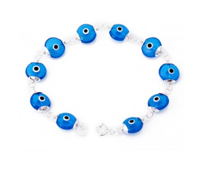 Blue Evil Eye Bracelet - Was $45 Now $29