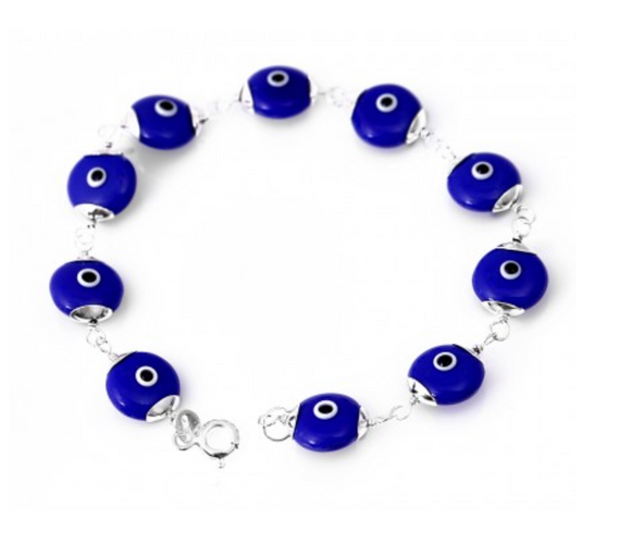 Lucky Eye Bracelet with Evil Eyes - Was $45 Now $29