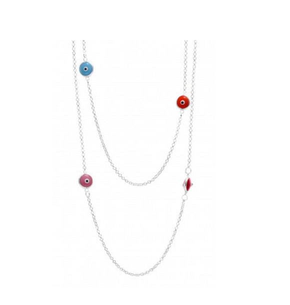 Evil Eye Multicolour Necklace