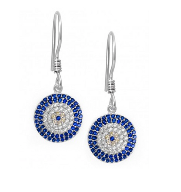 Greek Evil Eye Earrings