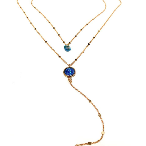 Artisan Jewellery - Double V Necklace Back in stock