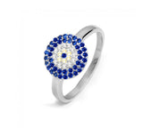 Greek Evil Eye Protection Ring