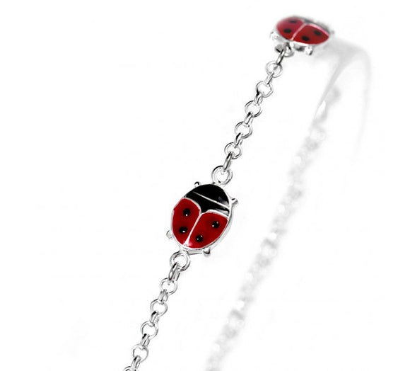 Ladybug Bracelet for Children
