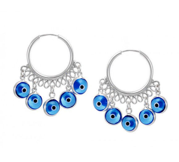 Turkish Evil Eye Earring