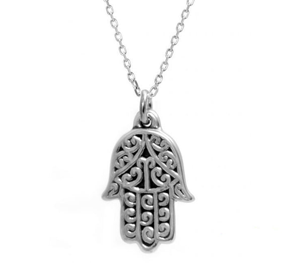 Plain Hamsa Necklace