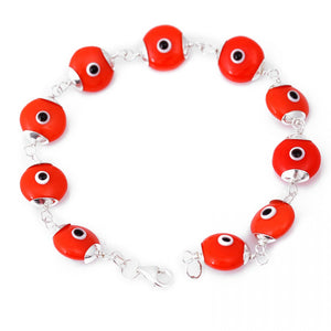 Orange Evil Eye Bracelet - Was $45 Now $29