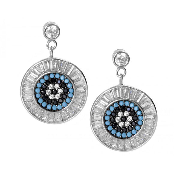 Luxury Evil Eye Protection Earrings