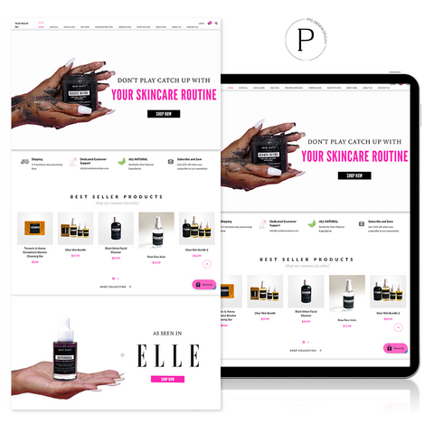 SHOPIFY WEB DEVELOPMENT | PTG DESIGN STUDIO LLC