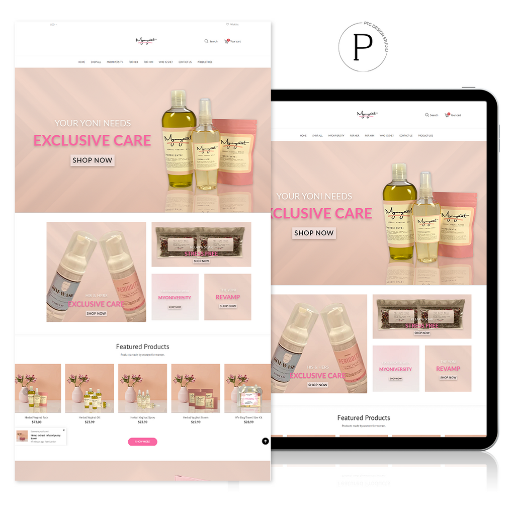 PREMIUM WEB DEVELOPMENT | PTG DESIGN STUDIO
