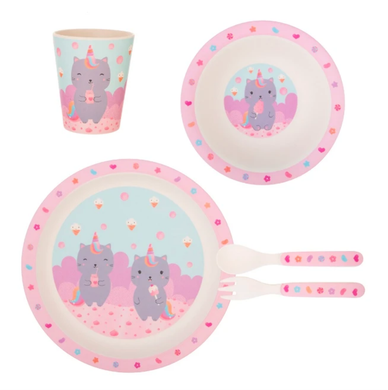 Set pappa unicorn cat