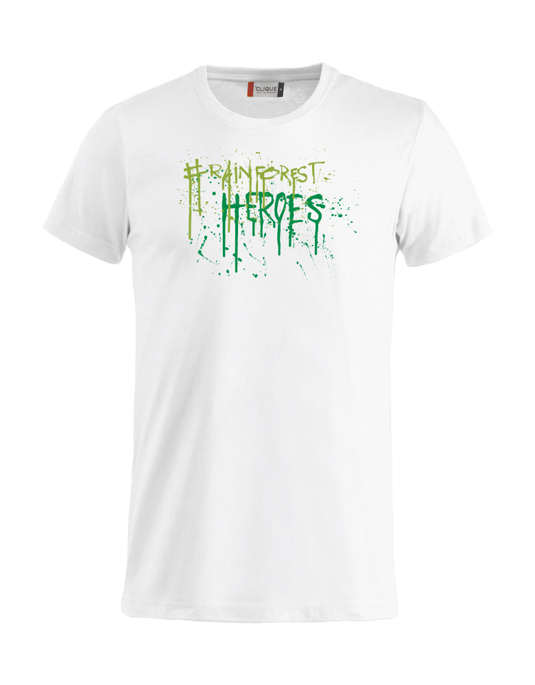 Rainforestheroes BROSLO Edition White Unisex