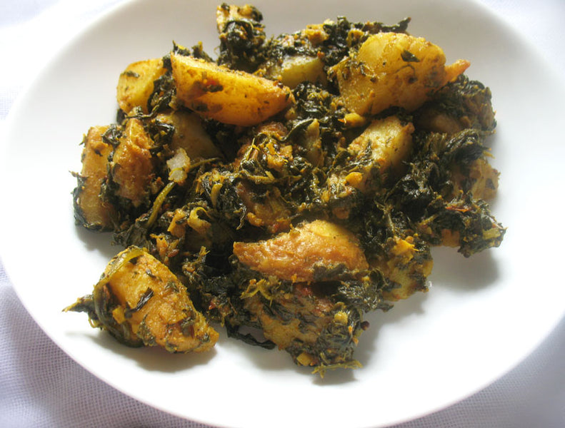 No Worries... Curry! Recipes: Saag Aloo