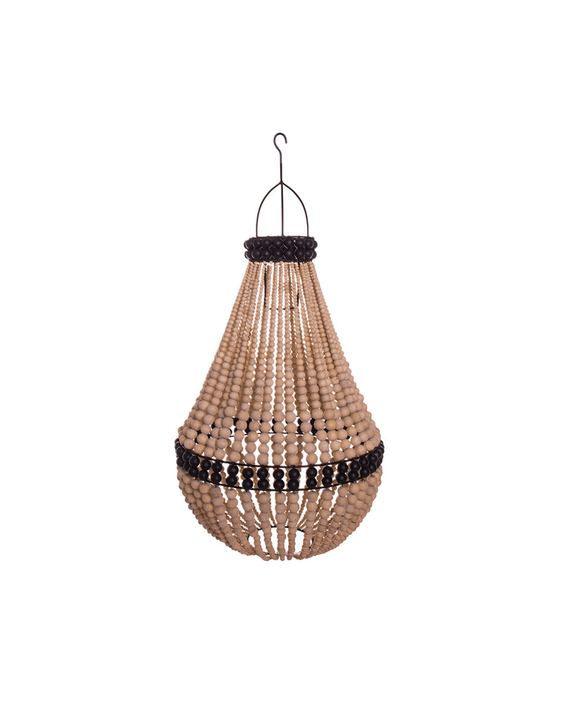Kim Soo Empire Chandelier - Natural/Black