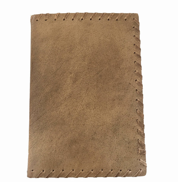 Journal tan leather